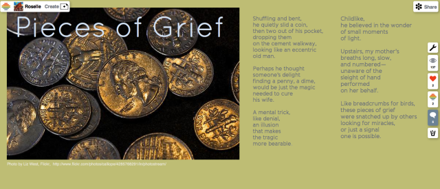 Pieces of Grief poem