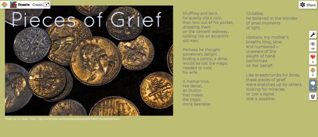Pieces of Grief poem